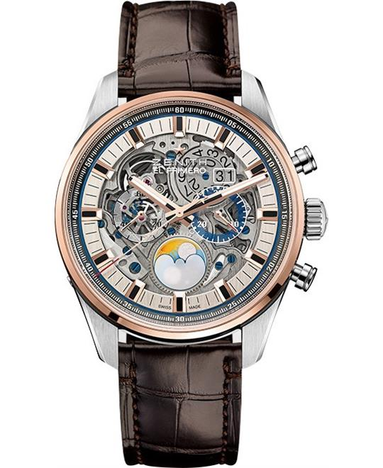 đồng hồ nam automatic Zenith Chronomaster El Primero Grande  Date Full Open 45mm