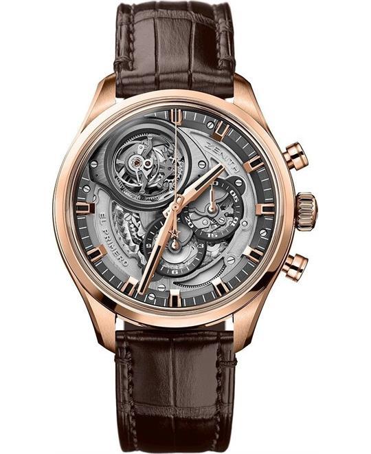 đồng hồ nam Zenith Chronomaster El Primero Tourbillon Watch 45mm