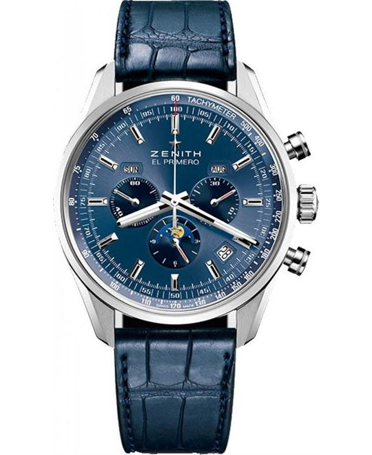 ZENITH El Primero Automatic Moonphase Watch 42mm