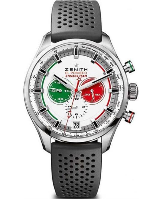 Zenith El Primero Chronomaster Sports Stratos Watch 45mm