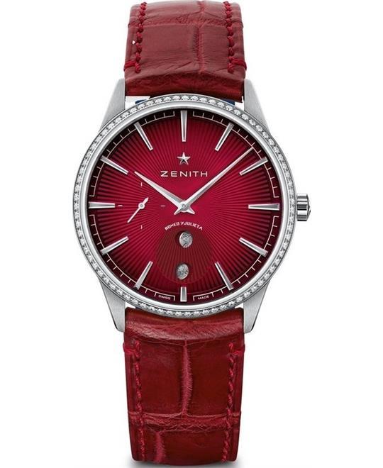 đồng hồ màu đỏ Zenith Elite 16.3201.692/04.C834 Watch 36mm