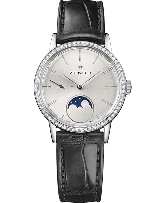 Zenith Elite Ultra Thin Lady Moonphase Watch 33mm