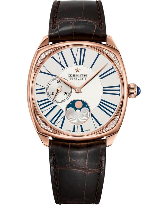 Zenith Heritage Star Moonphase Watch 37mm