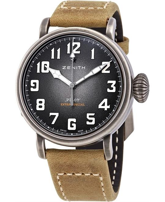 Zenith Pilot Type 20 Automatic Grey Grained 40mm