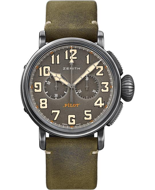 Zenith Pilot Type 20 Chronograph Watch 45mm